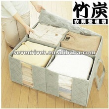 Fashion Design Foldable Clothing Storage Cases With Lid/Handle Storage Boxes In Stock