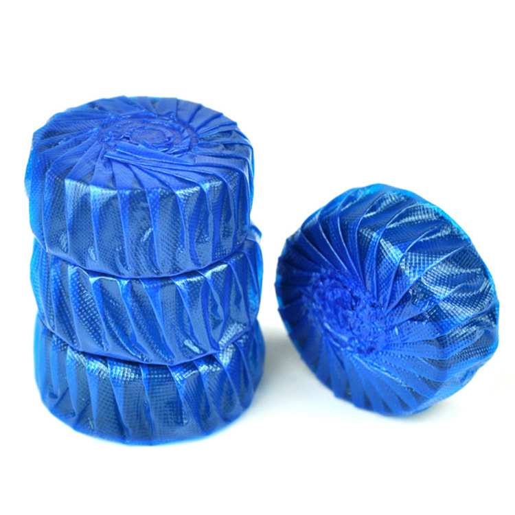 High Quality Solid Blue Bubble Scented Toilet <strong>Cleaner</strong> For Toilet Bowl