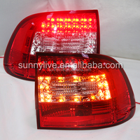 For Porsche FOR Cayenne LED Rear Lamps Tail Lights 2003-2007 Year Red White Color SN