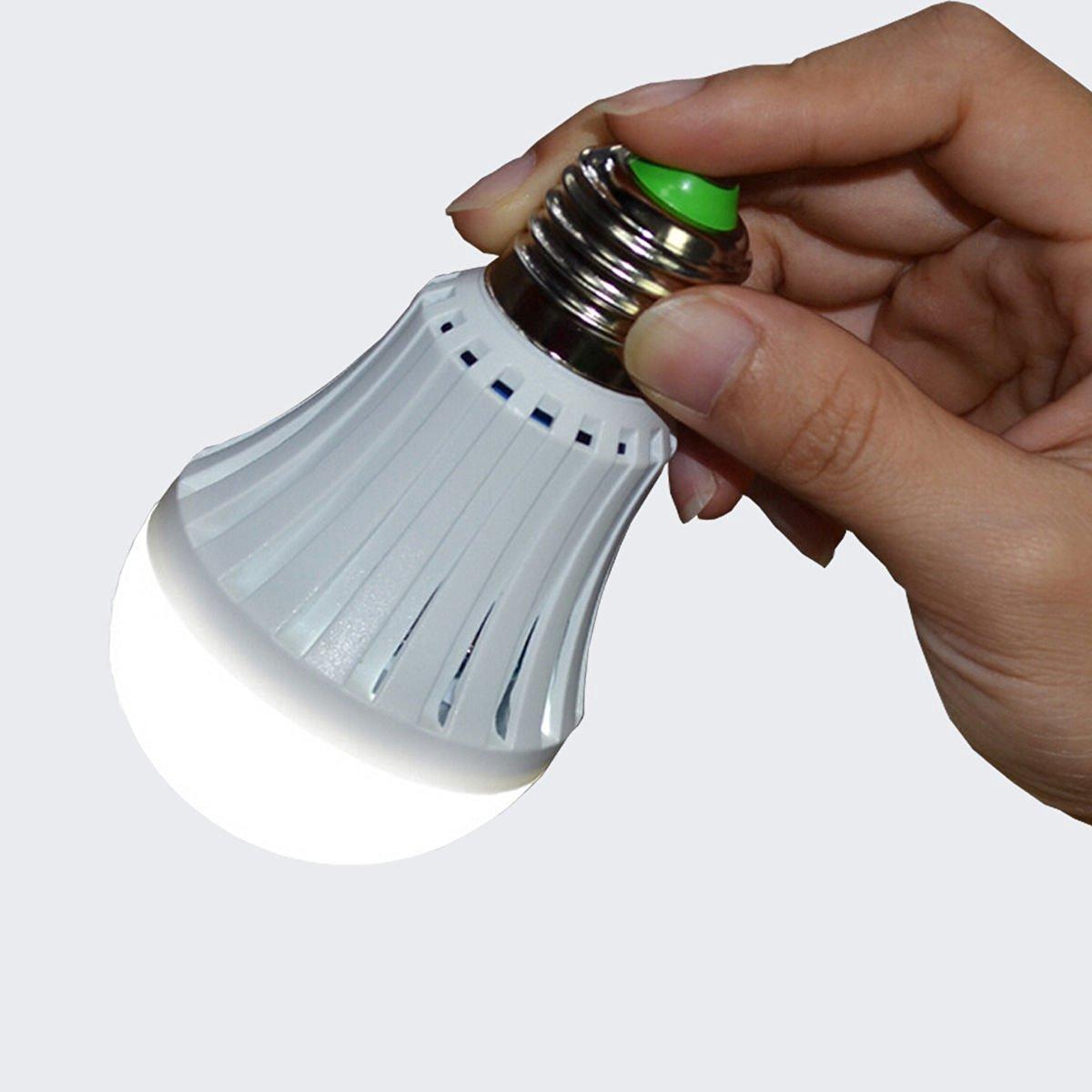Buy 7W E27 LED Emergency Light Rechargeable LED Bulb 85-265v for ...