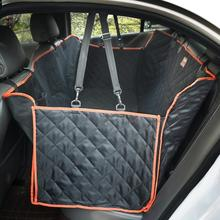 black waterproof quilted dogs hammock car pet seat cover for travel