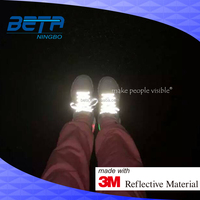 highly visible luminous safety 3M reflective shoelaces, reflex Scotchlite lace for shoe