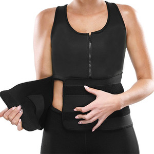 HOT Slimming Neoprene Vest Hot Sweat Shirt Body Shapers for Weight Loss Womens