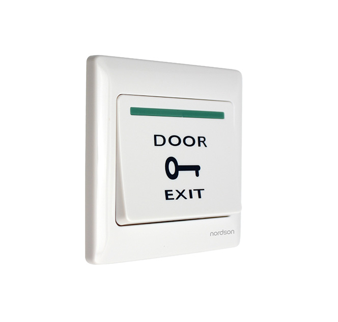 Access Control Accessories Capable Eseye Door Exit Button Push Exit Release Button Switch For Rfid Door Access Control System No Com Plastic Panel And Exit Button Sophisticated Technologies