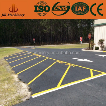 Highly Reflective Yellow Car Parking Line Thermoplastic Materials