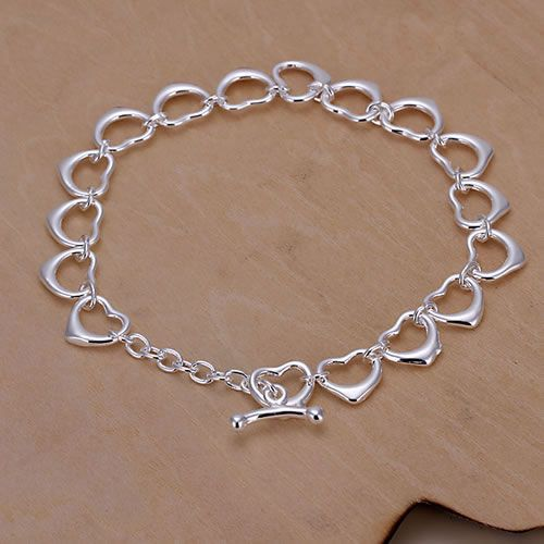 H162 925 delicate silver bracelet, 925 delicate silver fashion jewelry ...