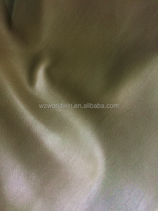 PU Soft leather for clothes Good quality Embossed Garment leather