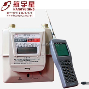 Hangyuxing Steel Diaphragm Wireless Remote Reading IC Card Prepaid electronic Household Gas Meter