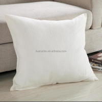 china factory price hot sale waffle fabric cushion cover pillow cover