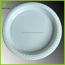 9inch Disposable Plastic Round Tray Food