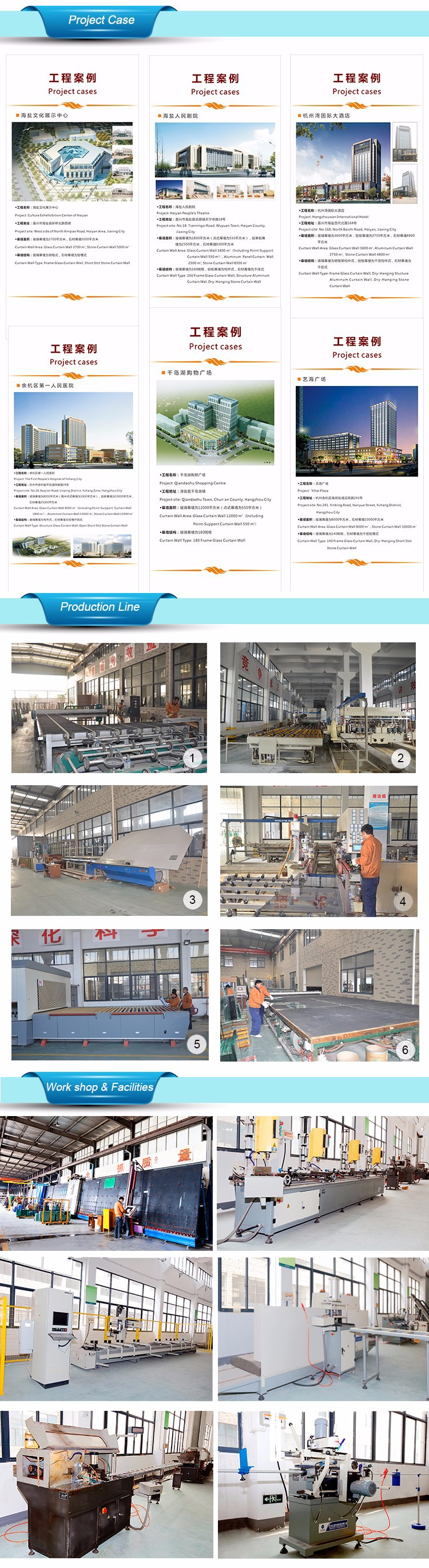 GaoMing Assemble factory good insulation 3 panel sliding glass door