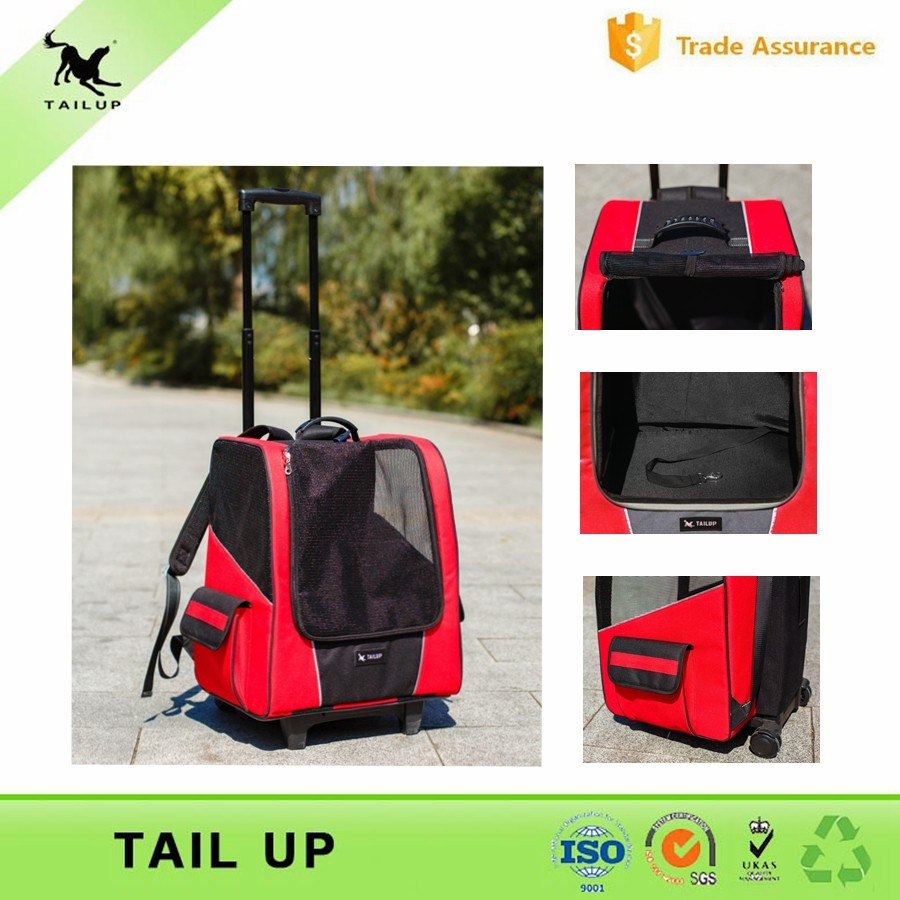 Airline Approved Pet Carrier Backpack With Wheels For Cats