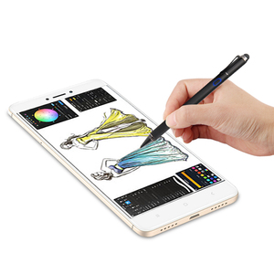 Dual-end Tablet Pen For iPad Touch Screen Pen active Stylus pen Universal For iPhone Samsung Tablet Phone PC