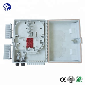 Supply Fttx Products Outdoor 16 Core Wall Mount Fiber Termination Box Ftt H308a
