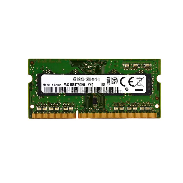 Ddr3L laptop ram 1.35 v ddr3 4gb pc3l memory