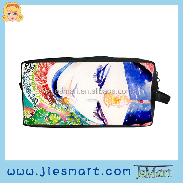 toilette bag custom photo bag travelling bag