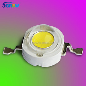 3W Cold White 5800-6500K COB LED Chip,3W High Power Led with Bridgelux LED Grow Chip