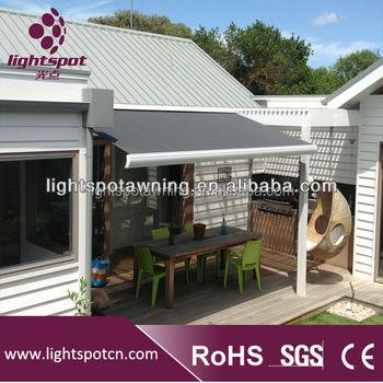 Aluminum Acrylic Terrace Retractable Awnings For Sunshade Buy