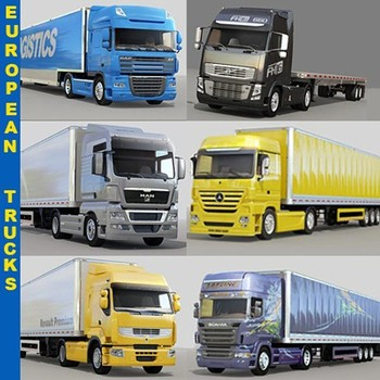 European Truck Spare Parts Scania Man Mercedes Volvo
