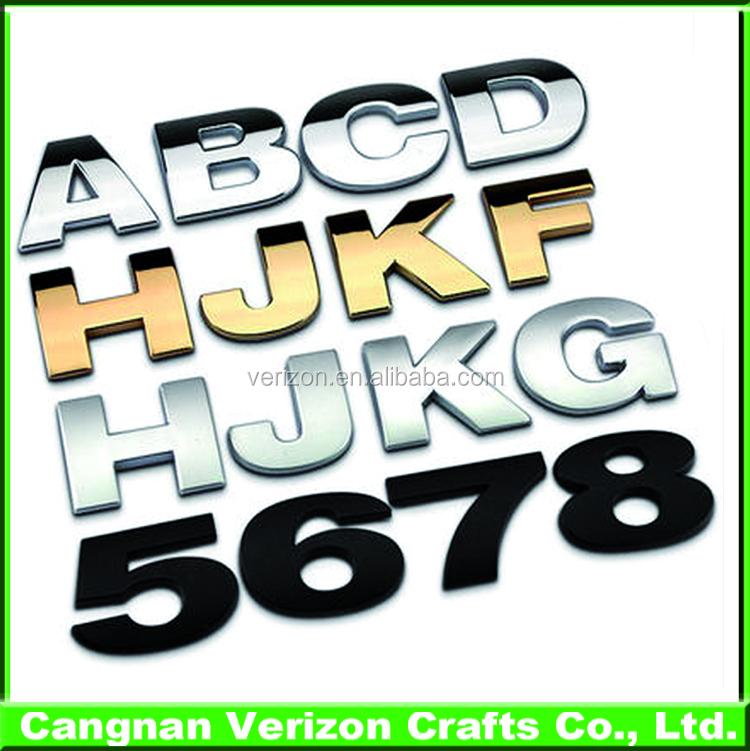 3d Car Logo Und Namen Eigene 3d Auto Emblem Abs Chrom Auto Logo