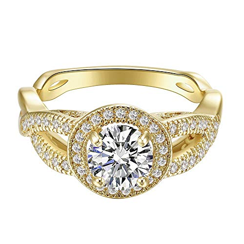 Hot Selling Women Jewelry Imit Diamond Xuping Style Rings Jewelry The Latest Gold Finger Rings Designs For Ebay Amazon