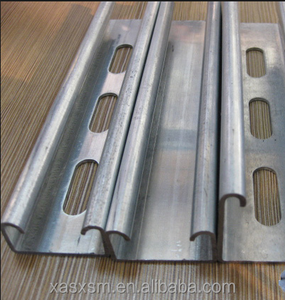 promotional price for cold formed galvanized steel c channel u channel, top hat section for Metal Building Materials