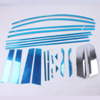 Stainless Steel Door Window Frame Sill Molding Trim WINDOW FRAME TRIMES FOR SPORTAGER 2011-2014