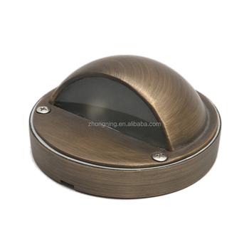 Brass Outdoor Gate Light Floor Light Motion Sensor Light