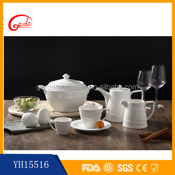 Most selling product white ceramic modern japanese porcelain tableware