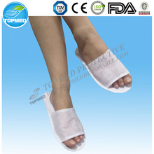Cheap wholesale custom disposable slipper for hotel with logo
