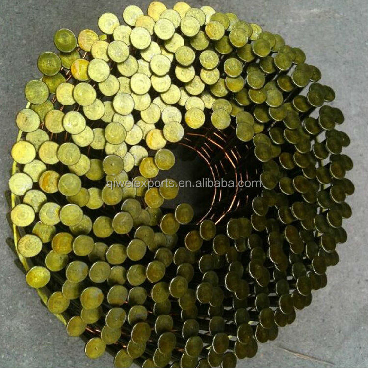 2 1/2''x.099'' WIRE PALLET COIL NAILS SCREW SHANK ON SALE