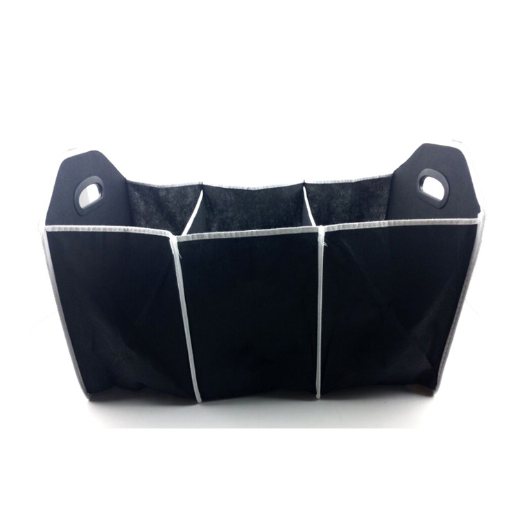 Non Woven Car Foldable Travel Back Seat Trunk Organizer