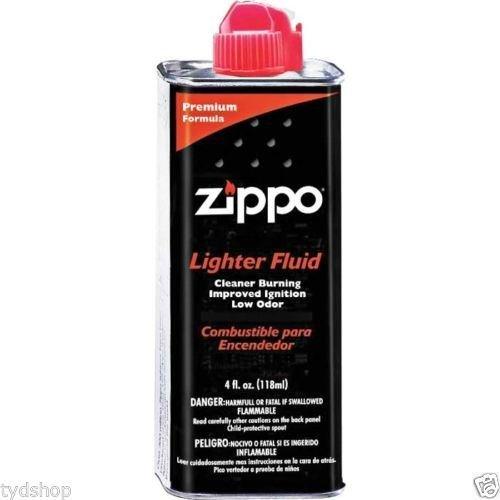 ZIPPO LIGHTER FLUID 4 oz 3141 4oz CAN FUEL FLUID FOR ALL ZIPPO POCKET LIGHTERS 1