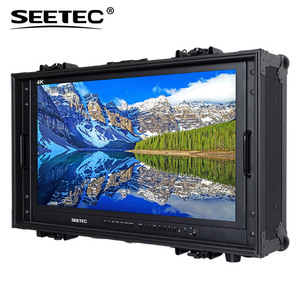 "28"" Carry-on Broadcast Director Monitor with hd 4k resolution 3840 x 2160 4K280-9HSD-SCH-CO"