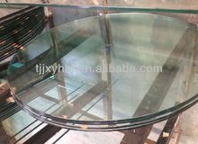 5mm-19mm safety TOUGHENED GLASS with CE & 3C from factory