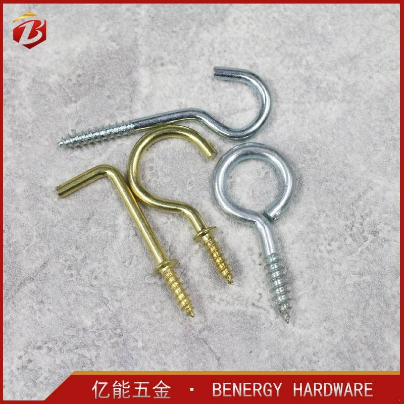 China Supplier High Quality Steel Metal Hook For Hanger Wooden Wall Hook