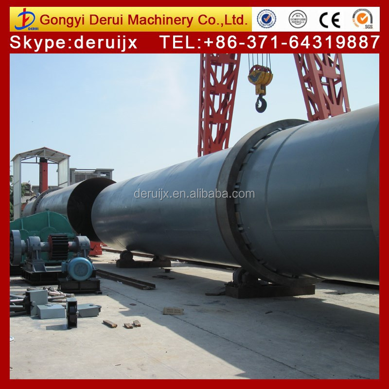 Magnesium oxide production line of dolomite rotary kiln for calcining dolomite