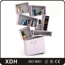 <span class=keywords><strong>Elegante</strong></span> alto <span class=keywords><strong>libreria</strong></span> <span class=keywords><strong>in</strong></span> <span class=keywords><strong>legno</strong></span> free standing guardaroba con book shelf