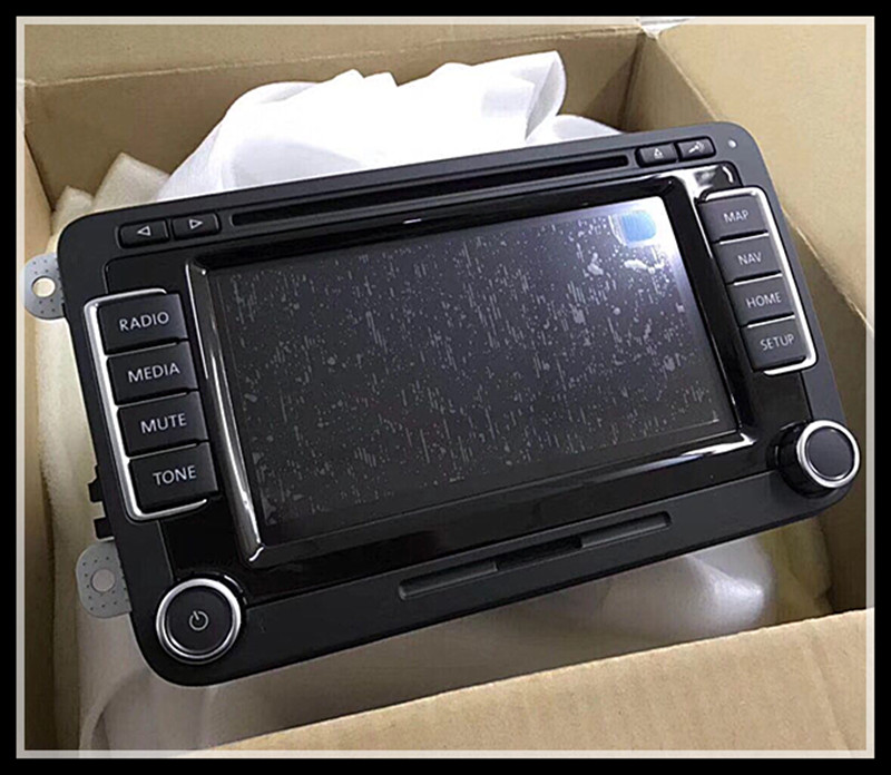 Brand New Original Car Dvd Navigation Radio Volkswagen Rns510 Lcd Display  Modules For Vw Rns 510 Car Auto Spare Parts - Buy Navigation Radio