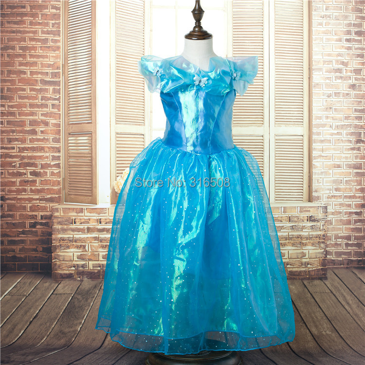 Free Shipping By DHL Wholesale 10pcs 2015 New Girls Movie Cosplay Costume Custom Made Fairy Tail