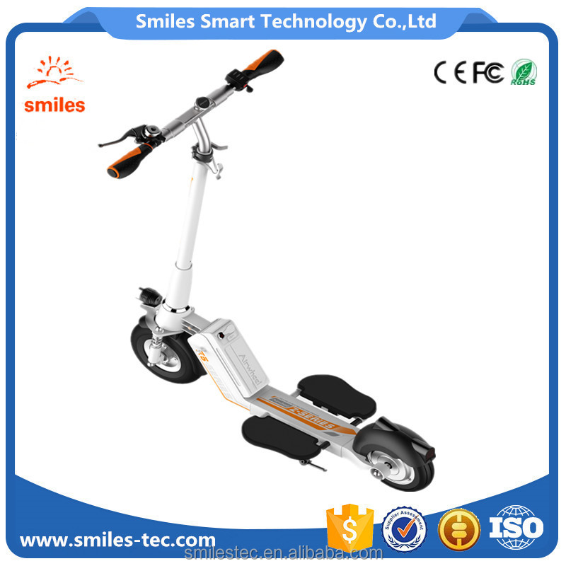 Multiple-folding system Highlighting Airwheel 8 Inch Self Balancing Electric Scooter