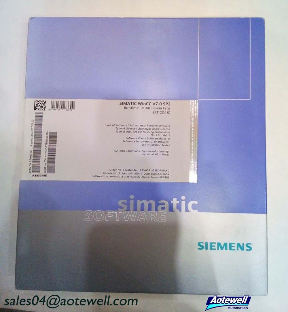 Siemens Software 6av6381-2be07-4ax0 Simatic Software Wincc V7 4 Runtime New  Industrial Software - Buy 6av6381-2be07-4ax0,Siemens Software,Siemens