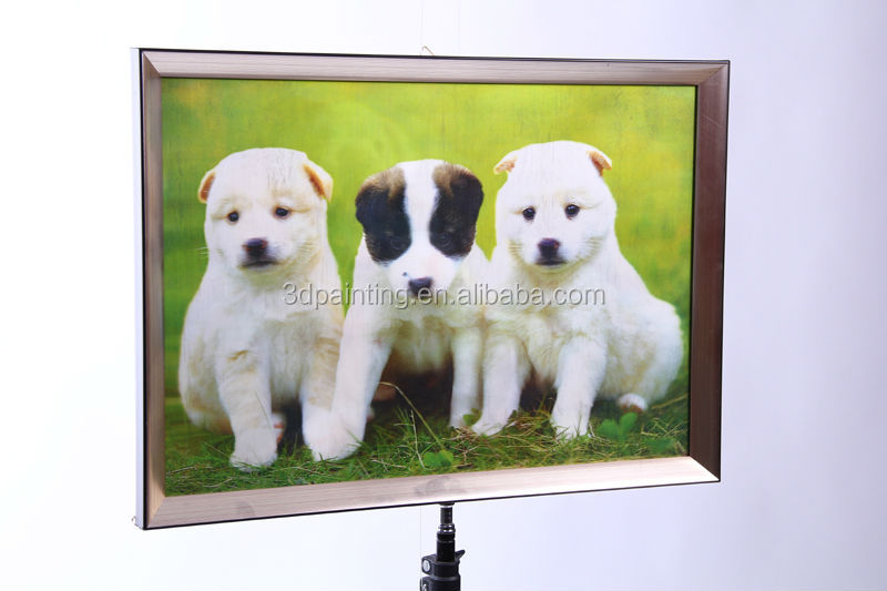Gift or promotion PP 3d painting for weeding