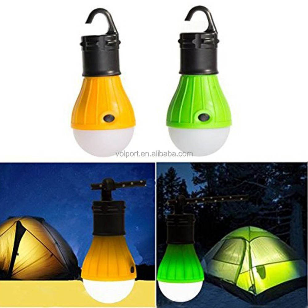 Portable LED Lantern Tent Light Bulb for Camping Hiking Fishing Emergency Light, Camping Equipment Gear Gadgets Lamp