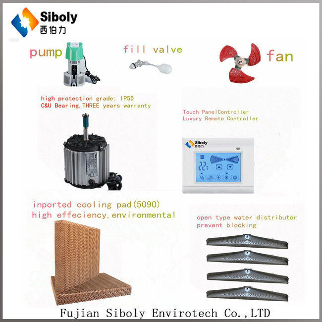 Siboly Hot Sale!eco Evaporative Air Cooler Cooling Without ...