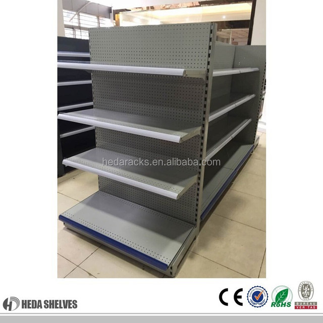 Chin Store Shelving Systems Vertical Plate Racks Steel Supermarket Storage  Rack