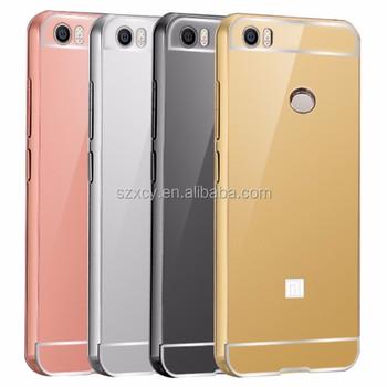 the best attitude 0d33a 6d712 Aluminum Metal Bumper Hard Pc Back Cover Mirror Case For Xiaomi Mi  Max,Mobile Phone Accessories - Buy Mirror Phone Case For Xiaomi Mi  Max,Mirror Pc ...