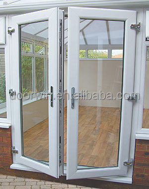 Aluminum Frame Double Glass Swing Door Buy Double Glass