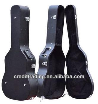 Hard Case Leather Guitar Bag