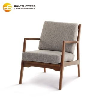 Modern Furniture Single Seater Sofa Chair Wood Living Room Relaxing